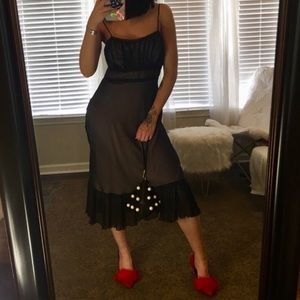 Vintage | French Ruffle Dress